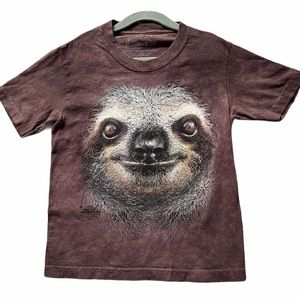 THE MOUNTAIN Sloth Face T-Shirt